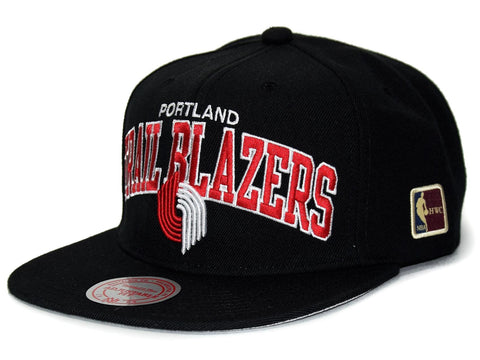 M&N Snapback Black Team Arch NBA HWC P.TRAILBLAZERS blk