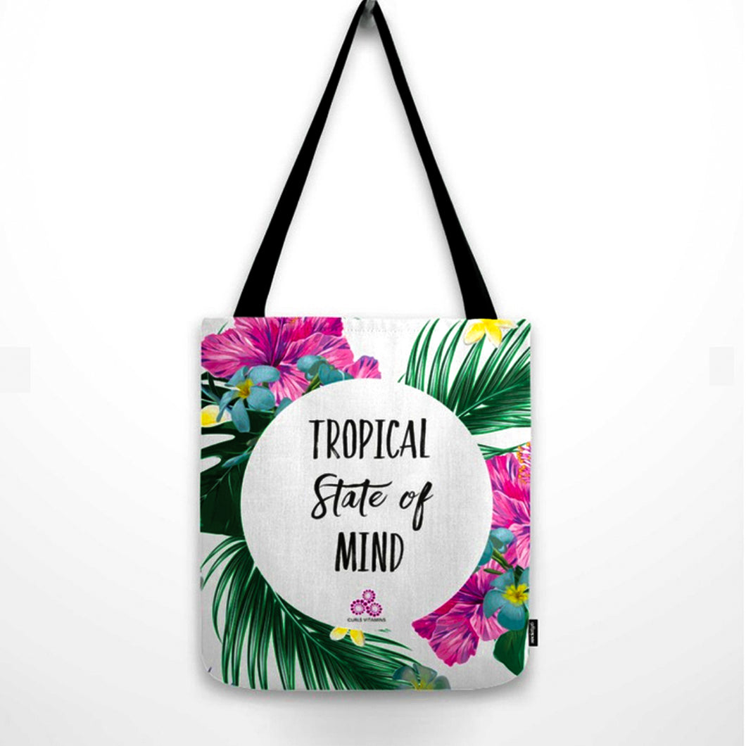 The Tropical State of Mind Tote Bag 🌴