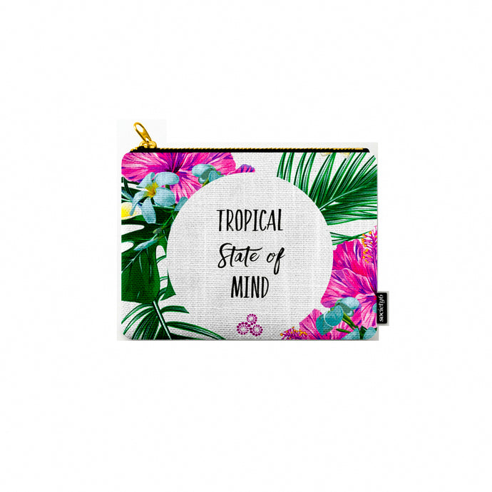The Tropical State of Mind Pouch 🌺