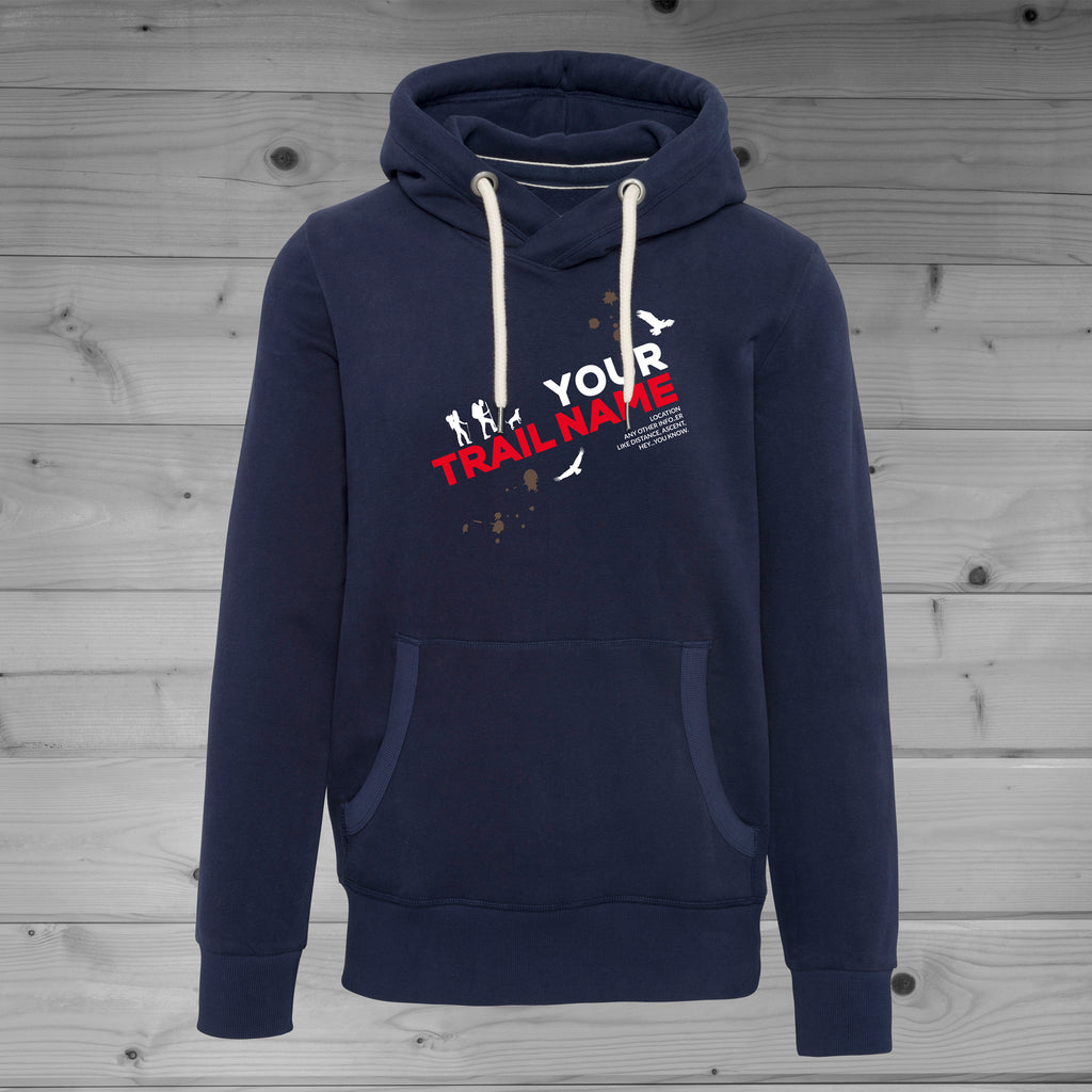 BUY A CUSTOM DESIGNED HIKING TRAIL HOODIE