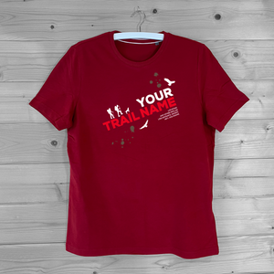 CUSTOM MADE HIKING TRAIL T-SHIRT