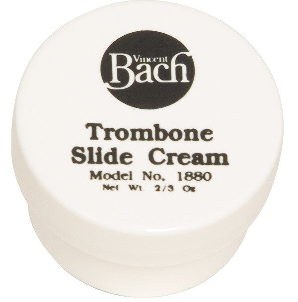 BACH TROMBONE SLIDE CREAM, 2/3 OZ. JAR