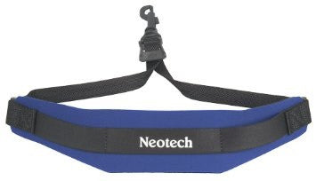 "NEOTECH ""SOFT"" SAX STRAP, ROYAL BLUE, SWIVEL HOOK"
