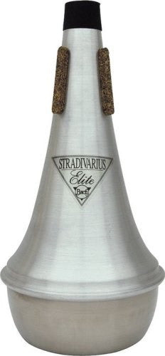 BACH TROMBONE STRAIGHT MUTE, ELITE,  ALUMINUM W/ STAINLESS BOTTOM