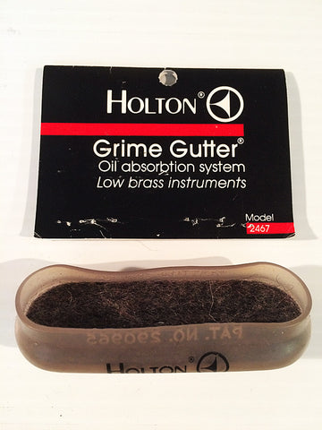 HOLTON GRIME GUTTER OIL ABSORBTION FOR LOWER BRASS  Discontinued Item  Limited Quantities
