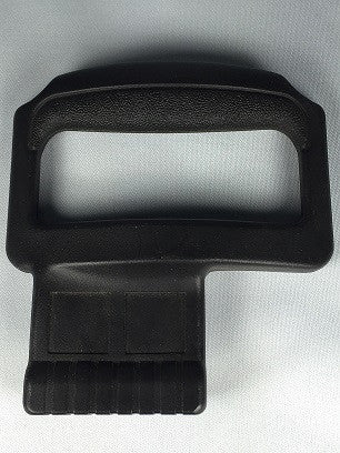 "PLASTIC CASE ""FLIP"" HANDLE, BLACK, FOR BESSON TUBA CASES"