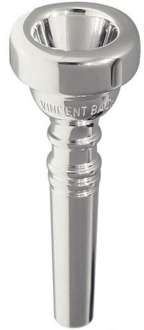 BACH CORNET MOUTHPIECE, SILVER PLATED