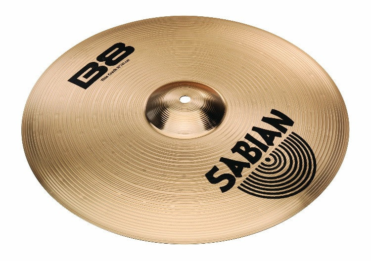 SABIAN B8 THIN CRASH CYMBAL, 16""