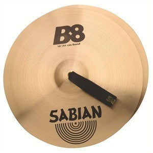 "SABIAN B8 CONCERT BAND CRASH CYMBALS 16"" PAIR"