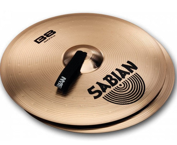 "SABIAN B8 CONCERT BAND CRASH CYMBALS 18"" PAIR"