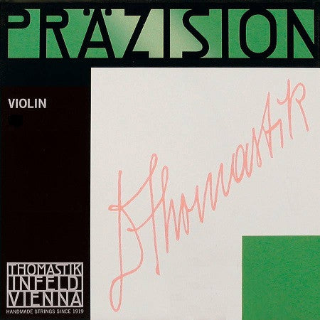 "THOMASTIK ""PRAZISION"" 4/4 VIOLIN ""A"" STRING, STEEL CHROME WOUND"