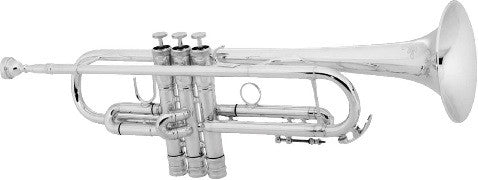 "CONN 52BSP ""CONNSTELLATION"" Bb TRUMPET, .462"" BORE, SEAMLESS BELL, MONEL PISTONS, REVERSE LEADPIPE, HEAVY CAPS, SILVER PLATED FINISH"