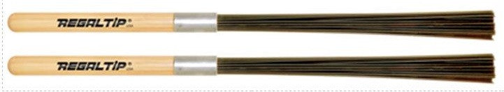 "REGAL TIP ""BLASTICK"" NYLON BRUSHES W/ HICKORY HANDLE"