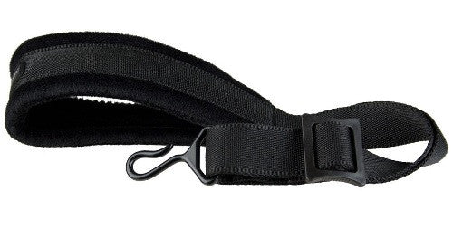 FAXX SAXOPHONE STRAP, PADDED, SWIVEL HOOK, BLACK