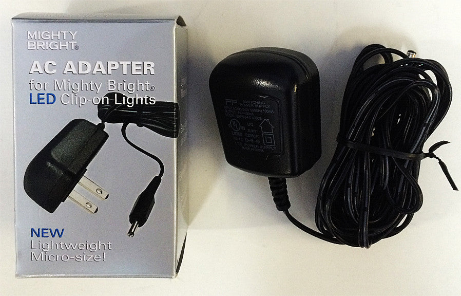 MIGHTY BRIGHT AC ADAPTER FOR LED MUSIC STAND LIGHTS