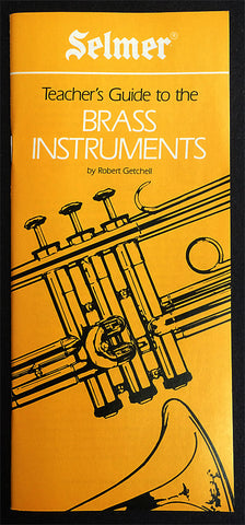 TEACHER'S GUIDE TO THE BRASS INSTRUMENTS