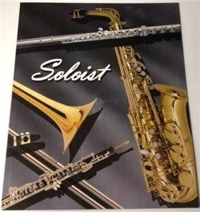 """SOLOIST"" CARDBOARD CONCERT BAND FOLIO, SMALL 9.5"" x 12.25"""