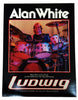 POSTER, ALAN WHITE ON LUDWIG DRUMS