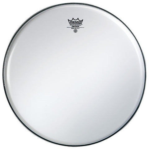"REMO EMPEROR BASS DRUM HEAD, 30"" SMOOTH WHITE"