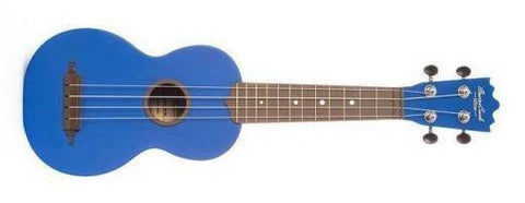 "BEAVER CREEK ""ULINA"" ABS SOPRANO UKULELE, MATTE BLUE, w/ BAG"