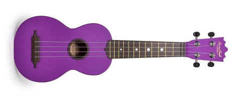 "BEAVER CREEK ""ULINA"" ABS SOPRANO UKULELE, MATTE PURPLE, w/ BAG"