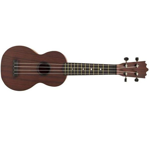 "BEAVER CREEK ""ULINA"" ABS SOPRANO UKULELE, WOODGRAIN, w/ BAG"