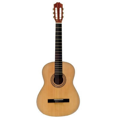 BEAVER CREEK 901 SERIES CLASSICAL GUITAR, NATURAL W/ BAG