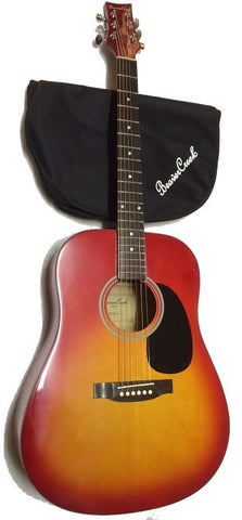 BEAVER CREEK 101 SERIES ACOUSTIC DREADNOUGHT GUITAR, CHERRY