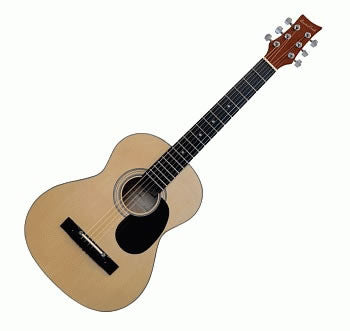 BEAVER CREEK 600 SERIES ACOUSTIC GUITAR, 3/4 SIZE W/ BAG