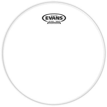 "EVANS ""G2"" BASS DRUM HEAD, 22"" DBL. PLY CLEAR"