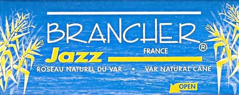 BRANCHER JAZZ, ALTO SAX REEDS, BOX OF 6