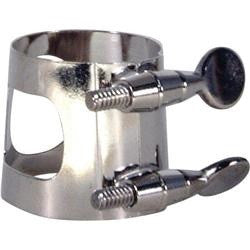 UNIVERSAL BARITONE SAX LIGATURE, STREAMLINED FIT, NICKEL PLATED