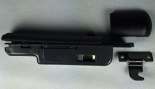 "YAMAHA ""NEW STYLE"" CASE LATCH, BLACK PLASTIC, RIGHT SIDE"