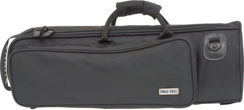 "PROTEC ""DELUXE"" TRUMPET GIG BAG, W/ REINFORCED BELL AREA, BLACK"
