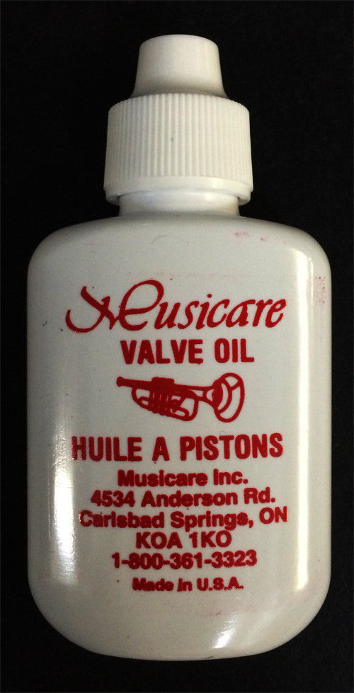 MUSICARE VALVE OIL, 1.1/4 OZ.