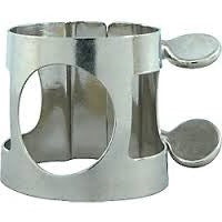 UNIVERSAL CLARINET LIGATURE, NICKEL PLATED