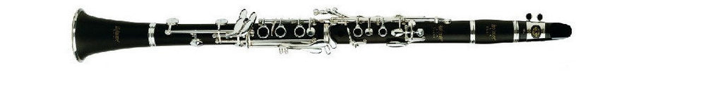 "SELMER ""USA"" Bb CLARINET .573"" MACHINED BORE, GRENADILLA BODY, SILVER PLATED KEYS, ABS CASE"