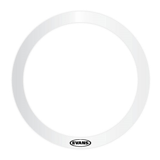 "EVANS E-RING, 10"" DIAMETER, 1"" WIDE, CLEAR PLASTIC"