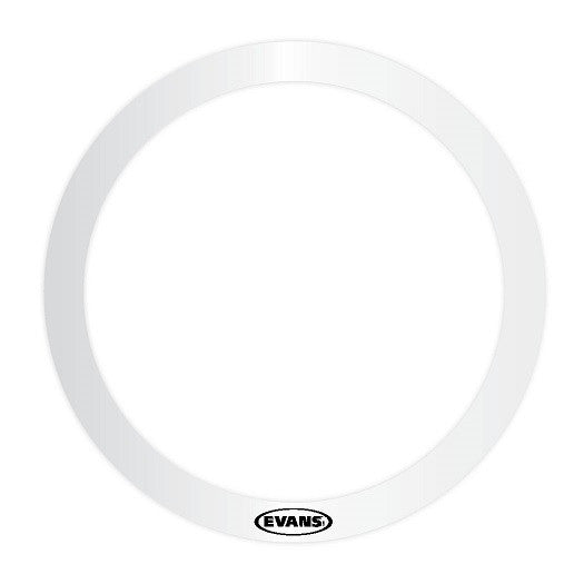 "EVANS E-RING, 18"" DIAMETER, 2"" WIDE, CLEAR PLASTIC"