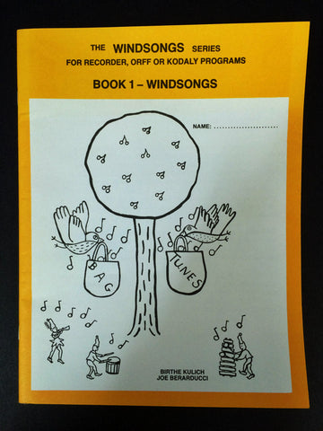 WINDSONGS BOOK 1 FOR RECORDER