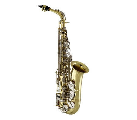 ANDREAS EASTMAN ALTO SAX, HIGH F#,  LACQUERED BODY, NICKEL PLATED KEYS, ABS CASE