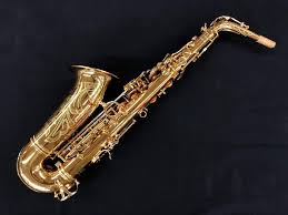 ANDREAS EASTMAN ALTO SAX, HIGH F#,  ADJ. PALM KEYS, GOLDEN LACQUER, GIG CASE