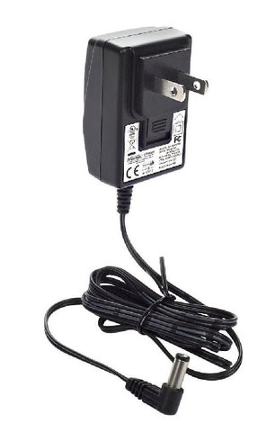 DUNLOP AC ADAPTER FOR DUNLOP/CRYBABY PEDALS, HOLLOW BARREL JACK