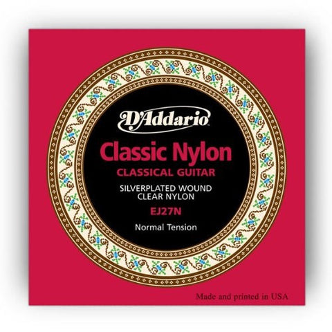 CLASSIC, CLASSICAL GUITAR STRING SET, SILVERPLATED/NYLON STRINGS, NORMAL