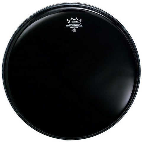 "REMO AMBASSADOR BASS DRUM HEAD, 26"" EBONY"