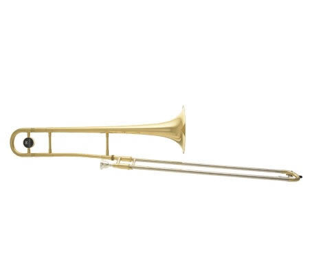 "ANDREAS EASTMAN TROMBONE, .500"" BORE, CLEAR LACQUER FINISH, ABS CASE"