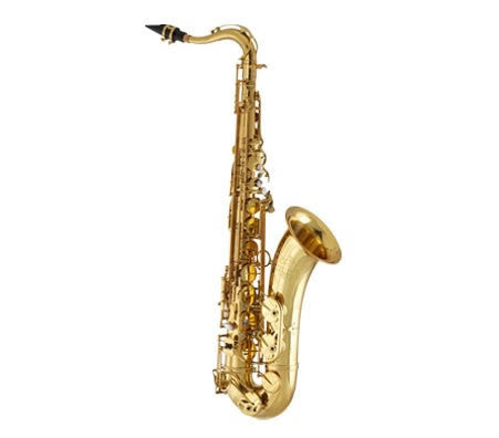 ANDREAS EASTMAN TENOR SAX, HIGH F#,  ADJ. PALM KEYS, GOLDEN LACQUER, GIG CASE