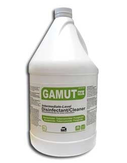GAMUT DISINFECTANT, DECONTAMINANT & CLEANER, 4L