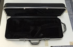 DELUXE UNIVERSAL TENOR SAX CASE, BLACK ABS, LOCKABLE  GC-TN25