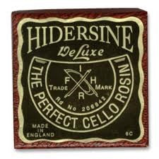 HIDERSINE DELUXE CELLO ROSIN, 6C